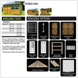 PopUps_COTTAGESHED