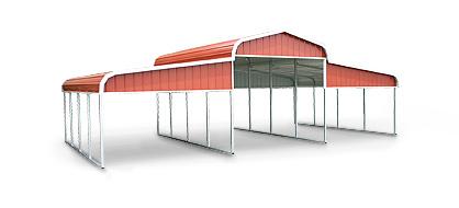 Horse Barn-Regular Style Roof 36'x21'-48'x36'