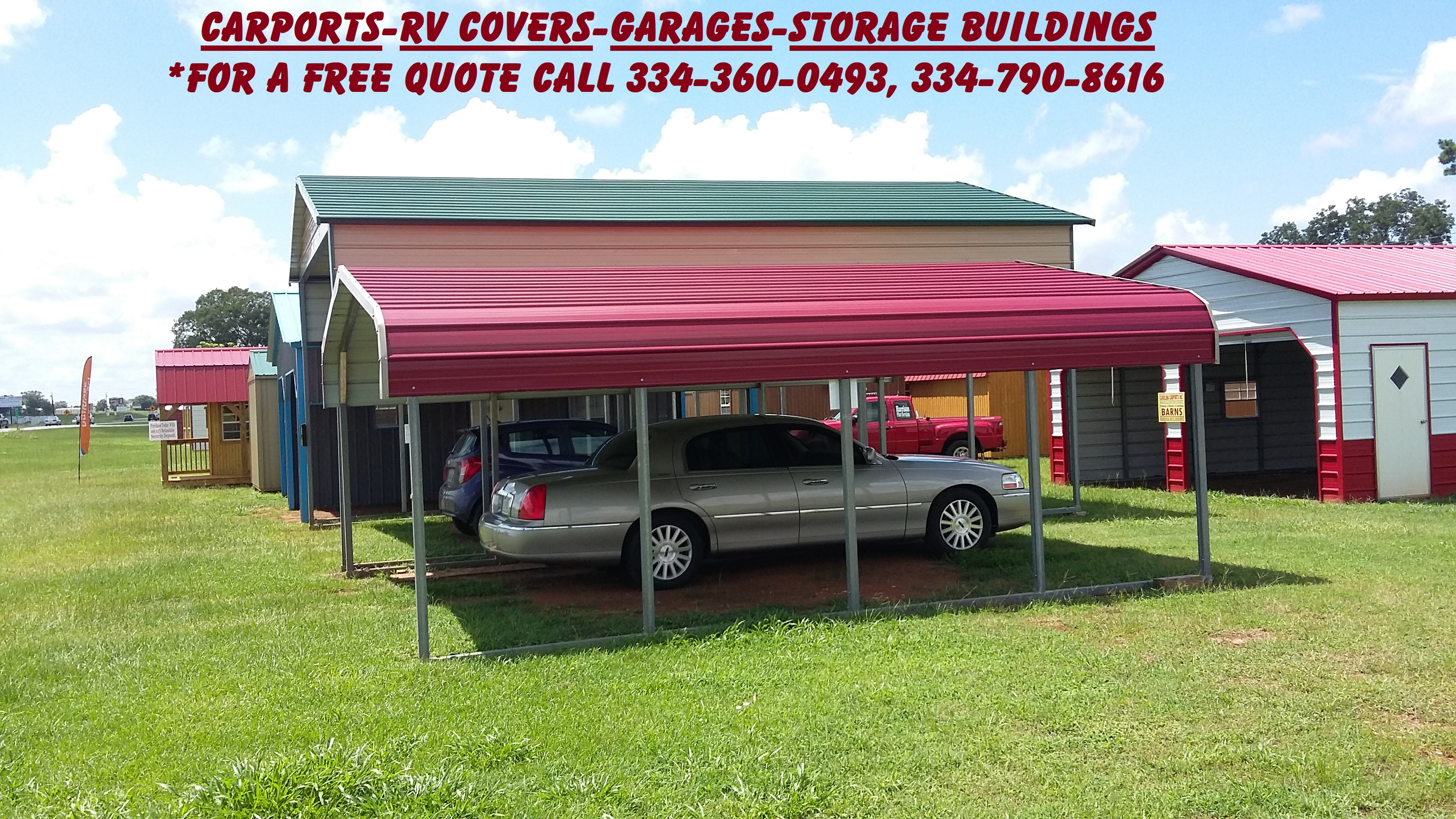 Regular Style Carport 24 X 21 Big Amp Small Storage