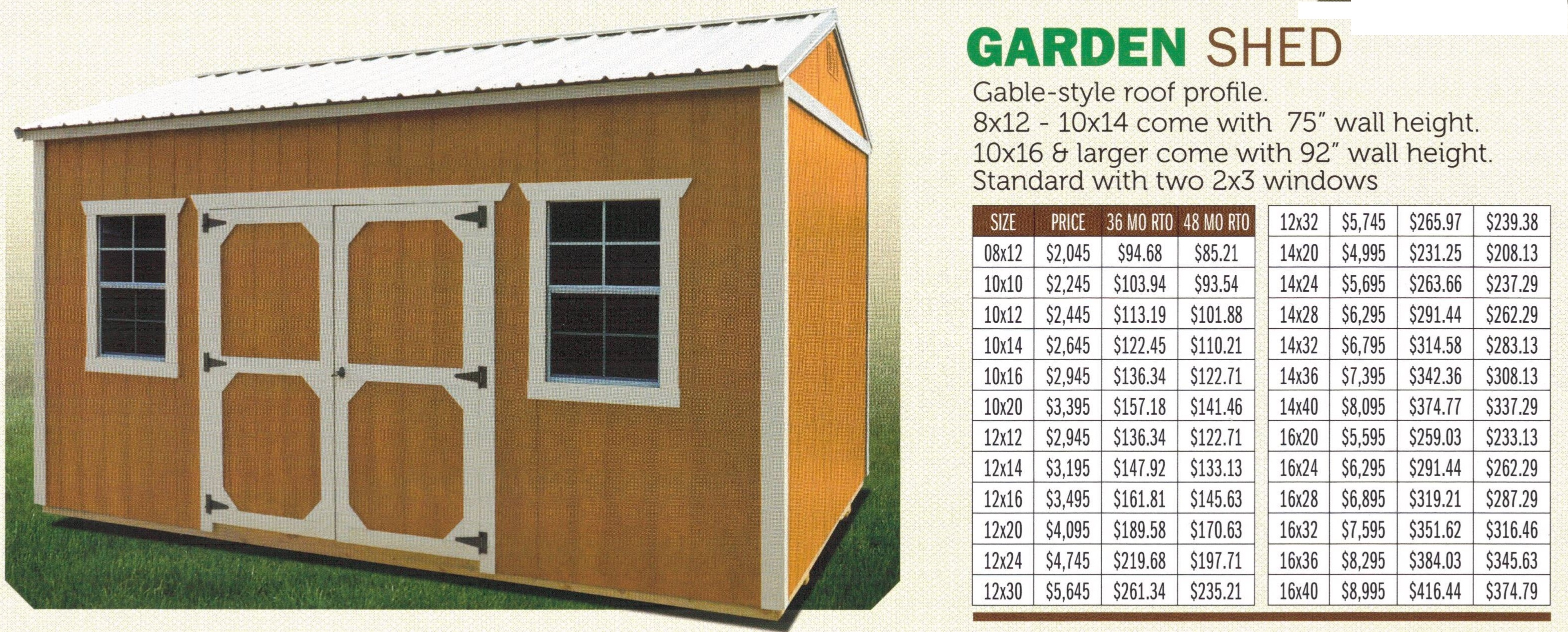 Cotton State Barns Big Amp Small Storage Solutions