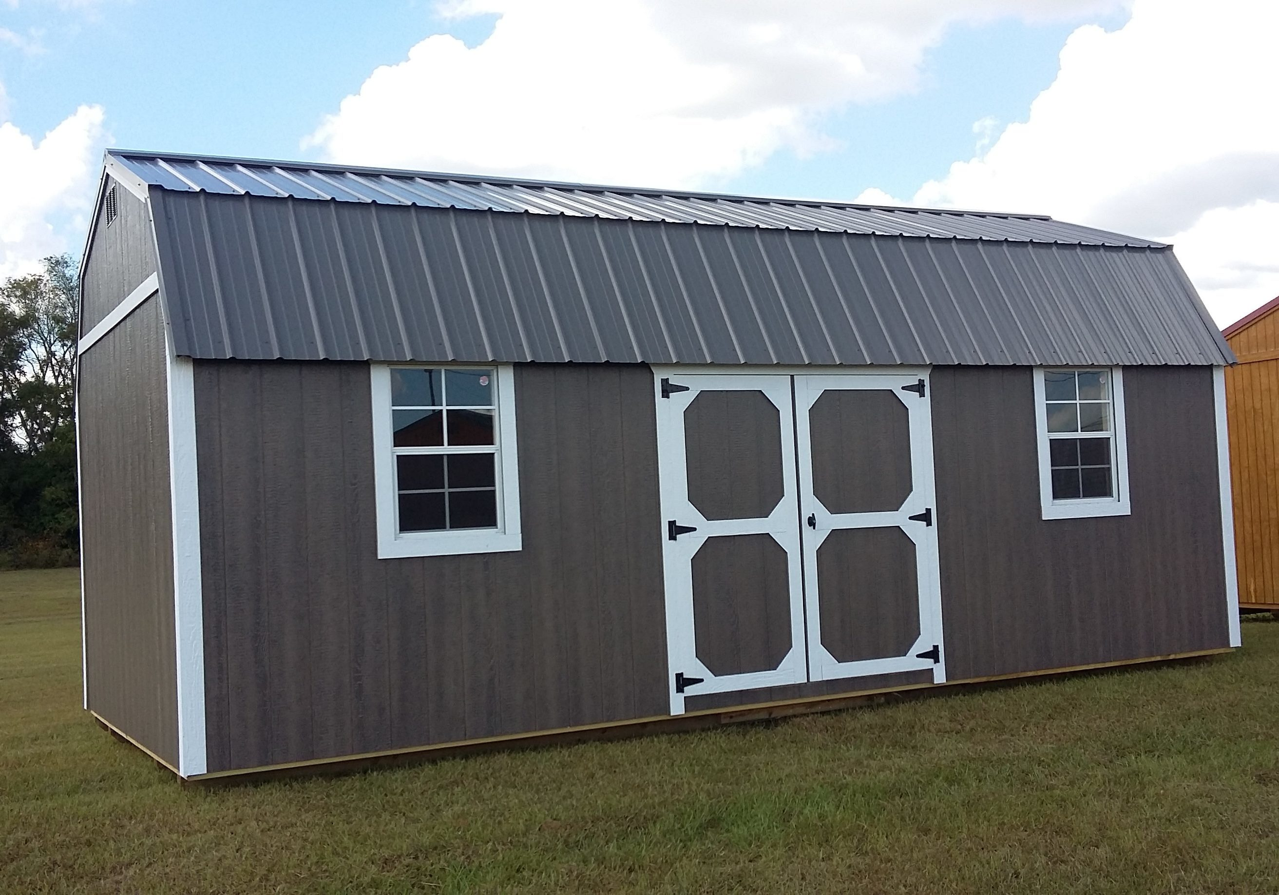 12' x 24' Side Lofted Barn with LP SmartSide