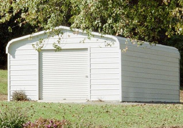 Closed In Carports : Carports and covers big small storage solutions